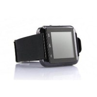 SUPER SALE I One U8 Smartwatch For Android and iOS Hitam grab it