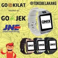TERBARU Onix Smartwatch DZ09 U9 BLACK SUPPORT SIMCARD MICRO MEMOR