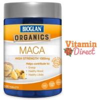 Harga bioglan organics maca high strength 1000 mg isi 100 | Pembandingharga.com