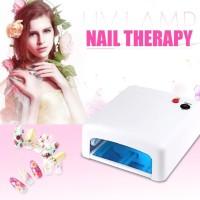 Pengering Kutek Kuku Curing LED Nail Lamp Drying Light Therapy Tools