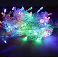 Lampu LED Tumblr 5 M Lampu Beras Hias Lampu Hias Natal LED 5 Meter RGB