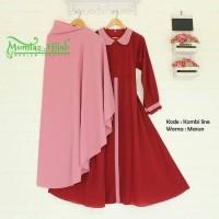 Gamis Modern KOMBI LINE SYARI ❤ hijab kekinian #Best seller