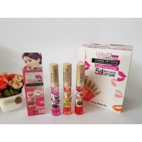 Kiss Beauty Liquid Matte Lipgloss 5in1 Multi-Function Varian Buah