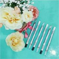 ORIGINAL Wardah Eyeliner Pencil Black and White Eye Liner Pensil Hitam
