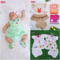 Setelan Baby 0-12 month Baju Bayi Pakaian Bayi Kaos Bayi Setelan Bayii
