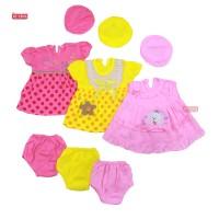 Setelan Bayi 0-12 Bulan / Baju Baby Perempuan Celana Pop New Born Set