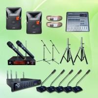Harga paket wireless conference e pakai 11 mic sound system 12 | Pembandingharga.com