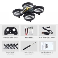 S22 Mini 4CH RC Quadcopter Drone Aircraft UAV Toy With One Key