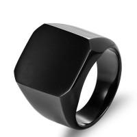 Cincin Pria Keren Elegan Titanium Ring