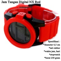 jam branded Digital NX Rubber red