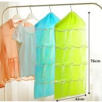 Tas gantung / storage bag gantung 16 kantung hanger