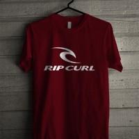 Harga kaos t shirt unisex best seller ripcurl x8111 | Pembandingharga.com