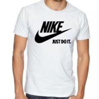 KAOS DISTRO NIKE JUST DO IT - PUTIH