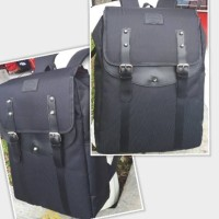 TAS RANSEL / BACKPACK / LAPTOP PROSPORT DURABLE BLACK / HITAM