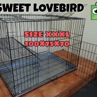 Kandang Kucing Tingkat SUPER EKSTRA JUMBO Size XXXL 100×75×70