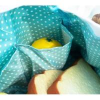 Time to Relax Canvas Lunch Bag / Tas Serbaguna / Tas Bekal