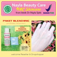 Paket Bleaching Badan Salon, termurah