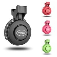 TWOOC Waterproof Electric Bike Bell USB Charging 120 dB