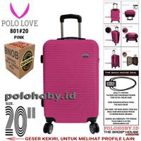 "POLO LOVE 801#20 KOPER HARD CASE 20"" - PINK LOVEPROMO"