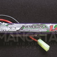 Turnigy nano tech 1400mah 3S 15 25C Airsoft Sugus