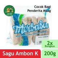 Merbabu Sagu Ambon K 200g x 2Pcs (Bisa Same Day Delivery)