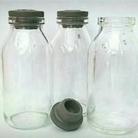 Botol vial 30ml clear - Putih