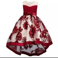 Baju Anak Perempuan Dress Gaun Pesta Kostum Import