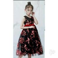 Littleerin Baju Dress Gaun Pesta Ulang Tahun Anak Perempuan Import
