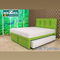 Ranjang Susun Latex Enzel Sweet 3 in 1 ukuran 160x200