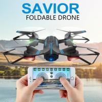 Smart Folding UAV Drone 720P HD Wide Angle Camera APP Remote WiFi 3D