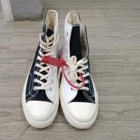 Sepatu Sneakers Converse Two Tone - Putih, 36