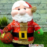 Boneka Santa Claus Kecil High Quality ( K - 611170 )