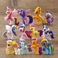 Figure My Little Pony Medium 7cm 12pcs