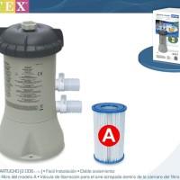 Pompa Filter Krystal Clear Pump 2.000gal perhour for Pool Intex 28604