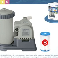 Pompa Filter Krystal Clear Filter Pump 2,500gal per hour Intex 28634