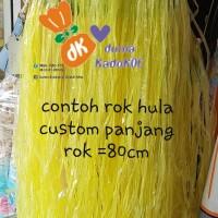 Rok hula CUSTOM dewasa Panjang =70-80cm