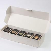 Box Parcel Small Marble / Box Natal / Parcel Natal / Hampers Natal