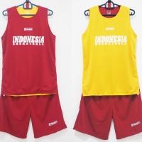 Baju Basket / Training Jersey bolak balik Indonesia Basketball