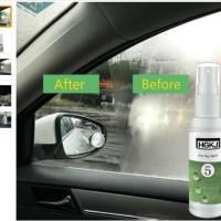 Anti Fog Kabut Hujan Spray Pelindung Kaca Mobil Helm Kacamata isi 20ml