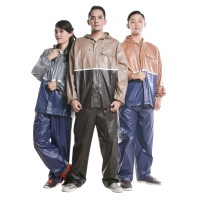 Jas Hujan Stelan Karet Tebal Raincoat Original Rain City RC108
