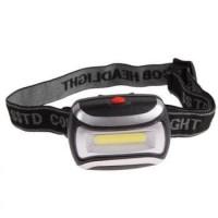 SENTER|Headlamp Flashlight Waterproof LED 3 Modes COB Headlight