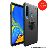 Samsung A9 2018 iRing Invisible TPU Soft Case - Free tempered glass
