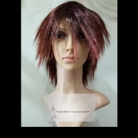 Wig Rambut Palsu Model Pendek Lurus