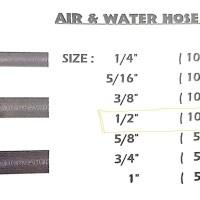 "Bridgestone water & Air Hose 1/2 "" ( Bridgestone Thailand )"