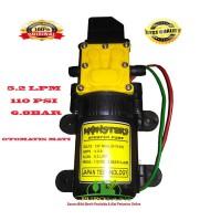 pompa air dc 12 volt 4A 110 psi monster