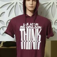 Baju Kaos laki laki hoodie cowok keren modis import
