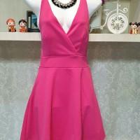 Baju Fashion Cewek Wanita Sexy Back Dress Import Best Seller