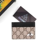 a611d7c05b8214 Dompet Gucci Bee Print GG Supreme Wallet Mirror Quality 1:1 Original