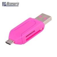 Card Reader 2 Slot OTG for MicroSD / SD OTG