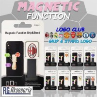 Ungrip Stand Magnetic Logo Football / club bola Holder Gantungan HP
